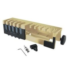 Porter-Cable 12 in. Deluxe Dovetail Jig Combination - The Home Depot Trim Carpentry, Carpentry Tools, Woodworking Tools, Dovetail Router Bits, Dovetail Jig, Box Joints, Pocket Hole Jig, Wood Plugs, Home Workshop
