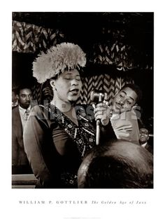 Ella Fitzgerald People Art Print - 46 x 61 cm