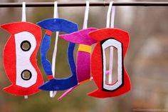 No Sew Big Hero 6 Masks {Superhero Mask Tutorial} - Might try Hiro, Baymax, Go Go and Wasabi 6th Birthday Parties, 3rd Birthday, Birthday Ideas, Big Hero 6 Party Ideas, Big Heroes, Big Hero 6 Baymax, Sewing Projects For Kids, Disney Crafts, Birthday Decorations
