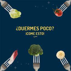 ¿Continúan tus problemas para dormir? La falta de sueño se relaciona con el poco consumo de alimentos verdes y rojos.  #DescubrirEsDespertar