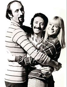 Peter, Paul and Mary were an American folk-singing trio whose nearly 50-year career began with their rise to become a paradigm for 1960s folk music. The trio was composed of Peter Yarrow, Paul Stookey and Mary Travers.   Peter, Paul & Mary won their 1st Grammy (If I Had a Hammer) May 15,1963.  ONE OF MY ALL TIME FAVORITE GROUPS.....GOT TO SEE THEM LIVE WHILE I WAS AT UVA IN THE 60S.