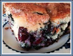 Blueberry Yogurt Cake #recipe @LucyBurdette