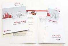 Dopo lo studio del corporate di Toyota Academy, Struchel Communication ha sviluppato l'immagine coordinata per Toyota Rental Store, leader nella vendita e nel noleggio con più di 100 dealer sparsi su tutto il territorio italiano.  Guarda tutti i nostri lavori visitando il sito www.struchel.com