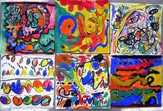 Cassie Stephens: In the Art Room: A Unit on Line for Kindergarten: Kandinsky