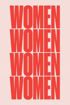 The Pink + Red Trend // Red and pink Women poster by For All Womankind Typographie Logo, Women Poster, Motivational Quotes, Inspirational Quotes, Poster S, Poster Prints, Photo Wall Collage, Wall Prints, Women Empowerment