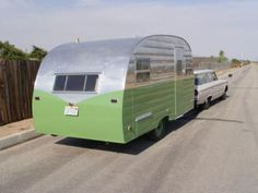 DOUGS VINTAGE TRAILERS - 1953 Roadking