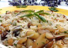 Risoto de pinhão/ Receitas de inverno/ winter food recipe