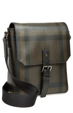 Burberry 'Vaughn' Check Print Crossbody Bag available at #Nordstrom