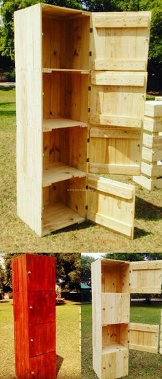 Awesome Pallet Wood Hutch