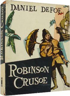 Daniel Defoe Robinson Crusoe, ilustrácie Vincent Hložník Daniel Defoe, Robinson Crusoe, Comic Books, Comics, Cover, Cartoons, Cartoons, Comic, Comic Book