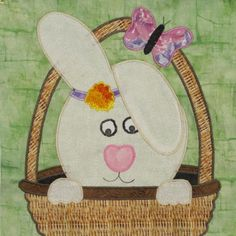 """Bunny in my Basket"" Free BOM - January Block!"