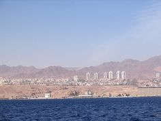 Eilat, Israel - as seen from the Red Sea (אילת)