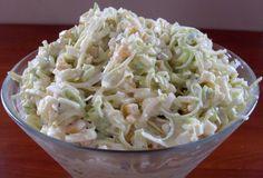 Salad Recipes, Vegan Recipes, Cooking Recipes, Chicken Egg Salad, European Dishes, Good Food, Yummy Food, Appetizer Salads, Polish Recipes