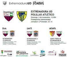 Horarios Extremadura Femenino  #soloparavalientes