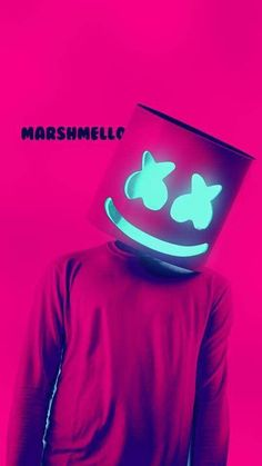 Marshmello by twila Music Wallpaper, Mobile Wallpaper, Wallpaper Backgrounds, Iphone Wallpaper, Electro Music, Dj Music, Music Is Life, Gaming Wallpapers, Cute Wallpapers