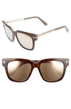 Tom Ford 'Tracy' 53mm Retro Sunglasses available at #Nordstrom