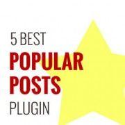5 Best Popular Posts Plugins for WordPress