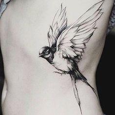 Bird, body tattoo on TattooChief.com