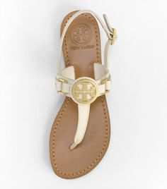 Tory Burch sandals.