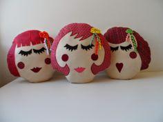 Ateliê Costurando nas Montanhas Gerais: Almofada Cabeça de Boneca
