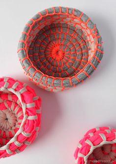 Patrones con trapillo (23): alfombra combinando trapillo y lana