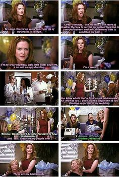 You tell them April! These are my bridesmaids