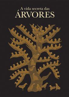 """""""A vida secreta das Árvores"""", publicado pela WMF Martins Fontes. Originalmente da Tara Books, serigrafias incríveis impressas na Índia."""