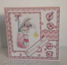 Crafters Companion Centura Pearl Card and Card Companion Bebunni Baby CD