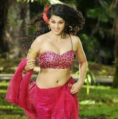 Taapsee Pannu hot navel show gallery
