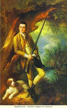 Thomas Gainsborough. William Poyntz.