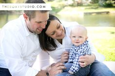 Photography by Samantha McGranahan, The Roxy Studio. Sprout session, family photo, new family, baby pictures, family at the park, Terre Haute