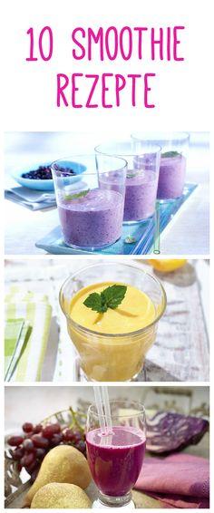 Die besten Rezepte für Smoothies auf www.gofeminin.de #smoothie #fruits #healthy #rezepte #shakes #fitspo