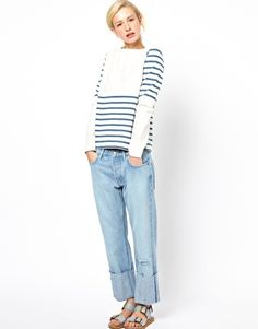 Enlarge Mih Striped Sweater