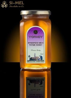 Thyme honey Toplou! Premium Quality! Luxury package! Honey traditional label! Honey design!