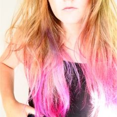 Hair Styles For Teens Creative DIY Hair Tutorials – Hot Pink Ombré – Color, Rainbow, Galaxy and Uni… Short Purple Hair, Pink Ombre Hair, Strawberry Blonde Hair Color, Brown Ombre Hair, Hair Color Purple, Hair Color For Black Hair, Purple Ombre, Ombre Hair Tutorial, Hairstyle Tutorial