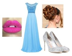 Cinderella by helloitsjosie on Polyvore featuring polyvore, fashion, style, Miu Miu, Glitter Pink and clothing