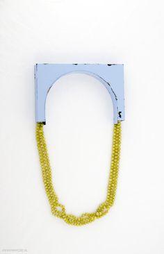 Sara Borgegård - View - Bridge, 2011, necklace, iron, paint, serpentine - € 2380