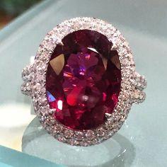 Flowers etc Pink  /& Round Pink Gems REDUCED    Gems Zig Zag