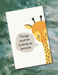 Printable Cards, Printables, Baby Nursery Art, Father Birthday, Printed Pages, Have Time, Your Cards, Giraffe, Card Stock