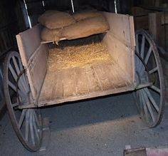 The Underground Railroad - blog post shows how slaves were hidden in a wagon and photos of Levi Coffin's home