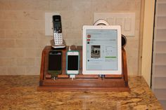 Charging station for phones and tablets