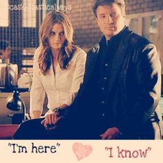"""I'm here."" ... ""I know."" #CaskettAlways"