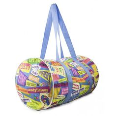 Orange Onions Pin To Win iScream Candy Lovers Favorite Words Duffel Bag!