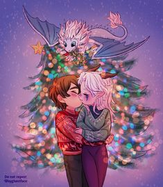 Under the Christmas lights🎄💖🌟 .❤️💚❤️💚✨✨I'm late bc I can't help to draw the lil comic😔btw in my head it's Ezran's… Rayla Dragon Prince, Prince Dragon, Dragon Princess, Rayla X Callum, Cute Couple Comics, Dragon Tales, Cute Reptiles, Cute Anime Couples, Christmas Lights