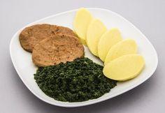 vegan týdenní jídelníček Tofu, Seitan, Vegan Desserts, Eggs, Breakfast, Ethnic Recipes, Morning Coffee, Egg, Egg As Food