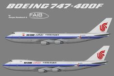 Air China, Boeing 747, Fiji, Planes, Aviation, Aircraft, Asia, Paint, Ideas