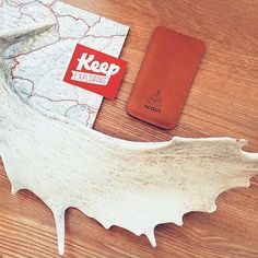Keep #exploring ! ✌️ #scoutsupply #iphone #leather #sleeve