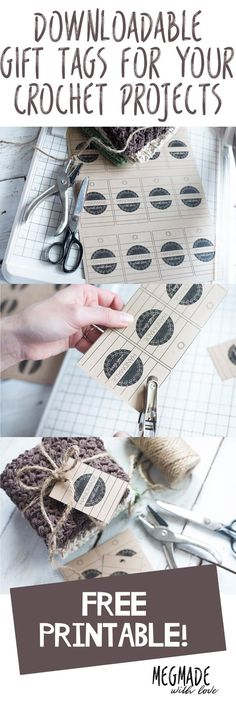 Free Download for Handmade Gift Tags — Megmade with Love