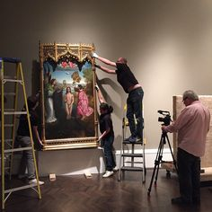 Abello Collection installation, Meadows Museum, Museum, Behind the Scenes, #MeadowsMuseum