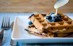 Café da Manhã com Waffle #breakfast